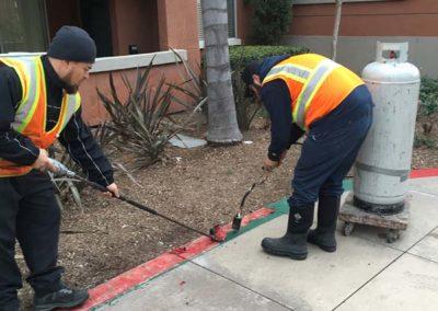 Property Maintenance Work - Before