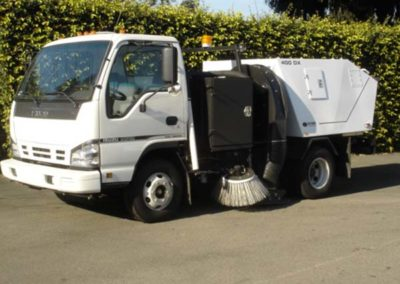 Parking Sweeping Truck